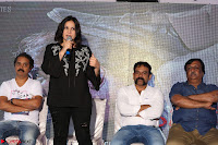 Cute Poja Gandhi in black dress at Dandupalyam 2 Movie press meet  ~  Exclusive 16.JPG