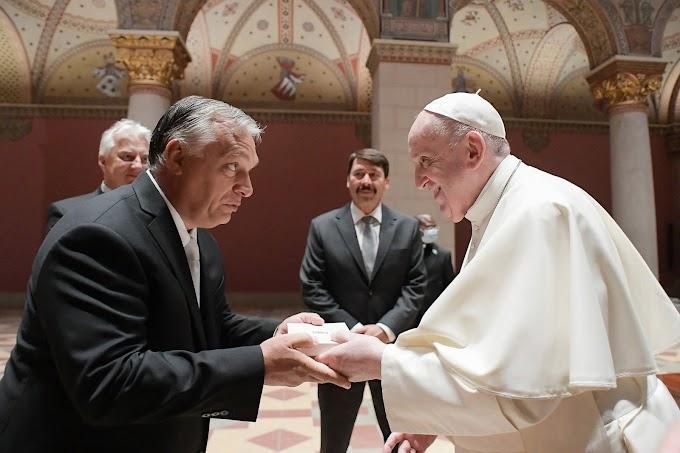 Orbán Viktor ennyit mondott a pápának: Ne hagyja elveszni a keresztény Magyarországot