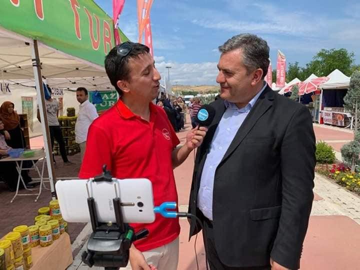 Çubuk Belediye Başkanı Av. Baki Demirbaş ile isacotur Blog Röportajı