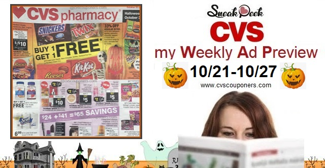 Cvs Weekly Ad Preview 10 21 10 27 Cvs Couponers