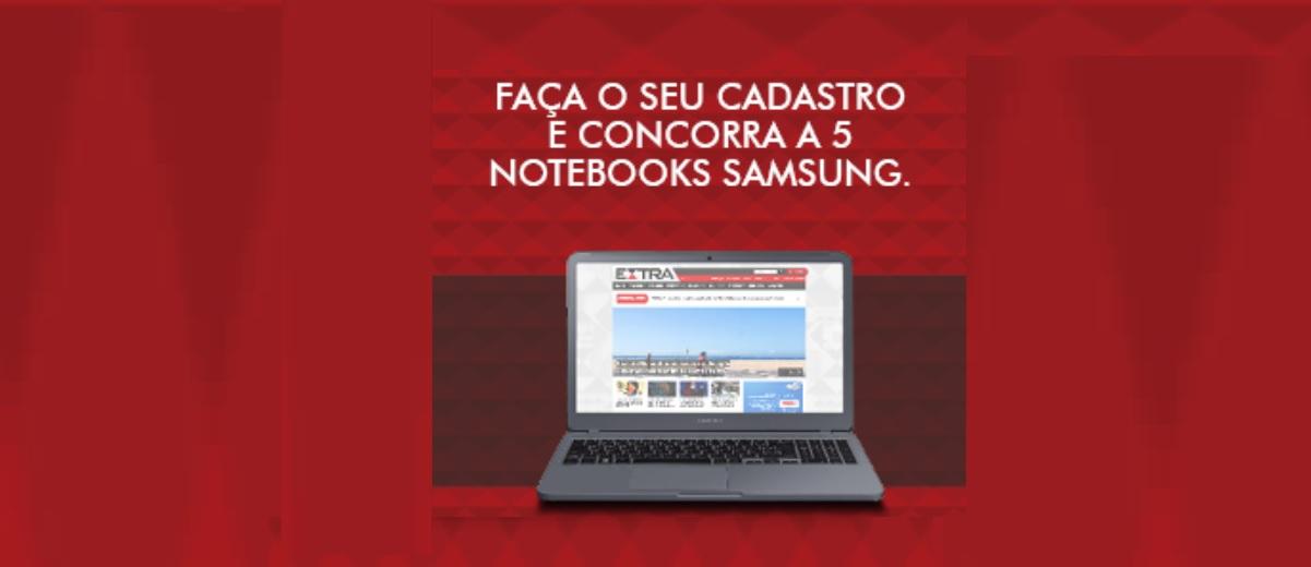Concorra 5 Notebooks Promoção Jornal Extra 2020 - Extra Digital Assinatura