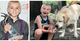 """Το 7χρονο αγοράκι που έσωσε 1400 σκυλιά και ανακηρύχτηκε το """"Παιδί της Χρονιάς"""""""