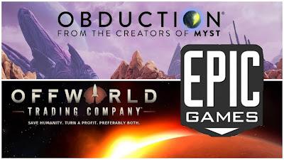Offworld Trading Company e obduction grátis