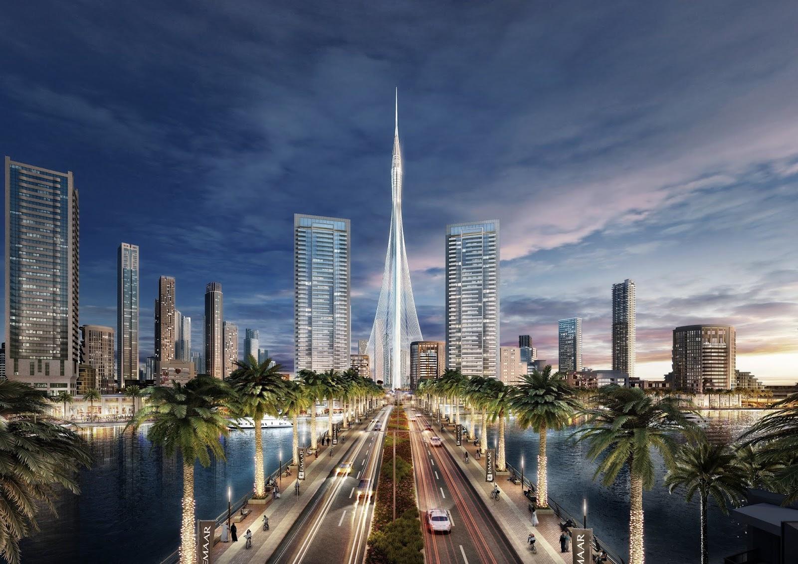 Dubai Creek Tower, la torre mas alta del mundo