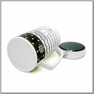 Spill Proof Ceramic Coffee Mug