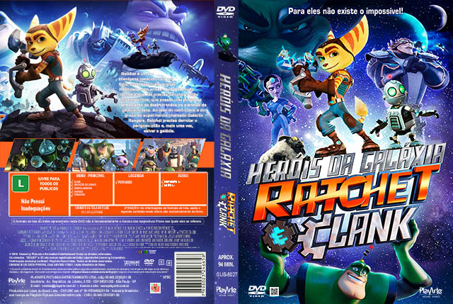 Heróis da Galáxia Ratchet e Clank  BDRip Dual Áudio Her 25C3 25B3is 2Bda 2BGal 25C3 25A1xia 2BRatchet 2Be 2BClank 2B  2BXANDAODOWNLOAD