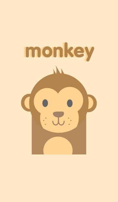Simple monkey theme
