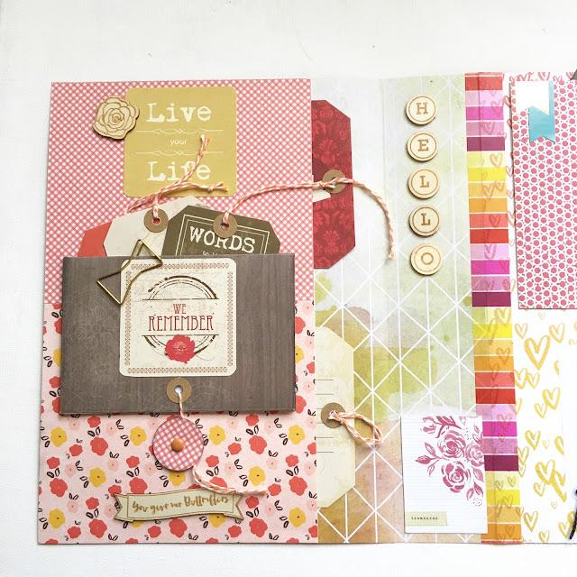 Fall In Love Mini Album by Angela Tombari per Crea Il Tuo con Angela & Giorgia October Kit Project 1