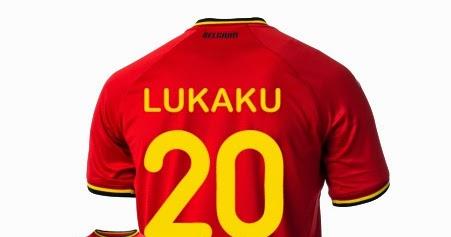 720c22193 Belgium WC Home Kit 2014 15 -  20 Lukaku