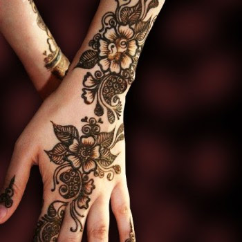 Bridal Mehndi Designs For Hands Backhand For Feet Images For
