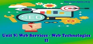 Web Services - Web Technologies II