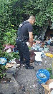 Actiuni ale politistilor in mai multe parcuri si piete, pentru combaterea cerșetoriei și a oamenilor străzii