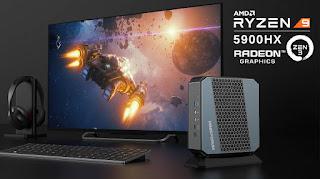 Minisforum unveils miniature computer EliteMini HX90 with AMD Ryzen 9 5900HX