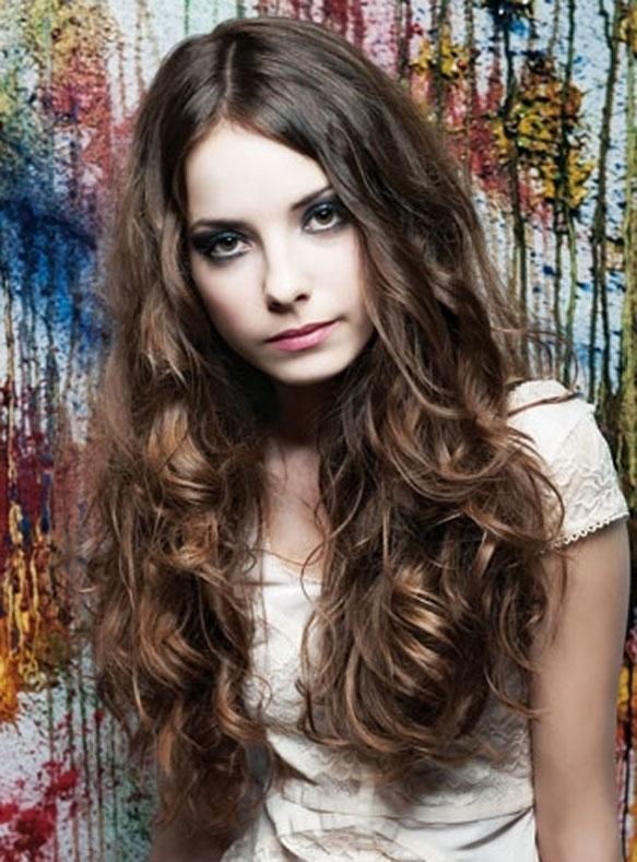 Cortes de pelo cabello largo ondulado