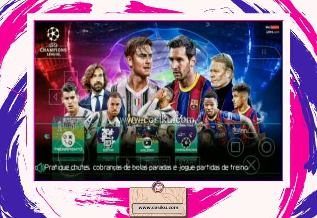 PES 2021 PPSSPP TM ARTS Size 1.4GB Update Fitur NO Bug & Bursa Transfer 2021