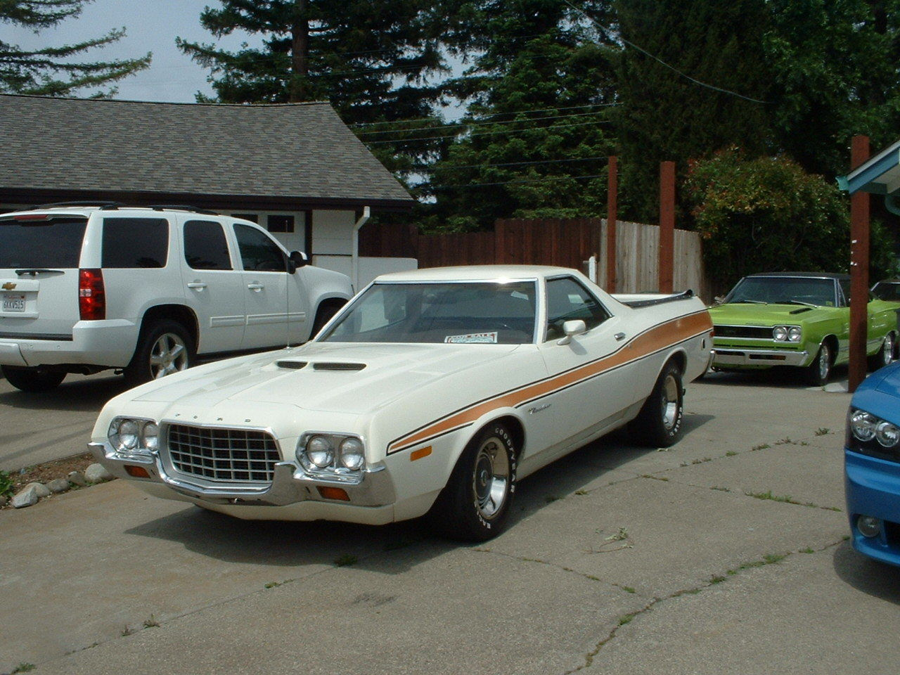 daily turismo cleveland tire killer 1972 ford ranchero gt