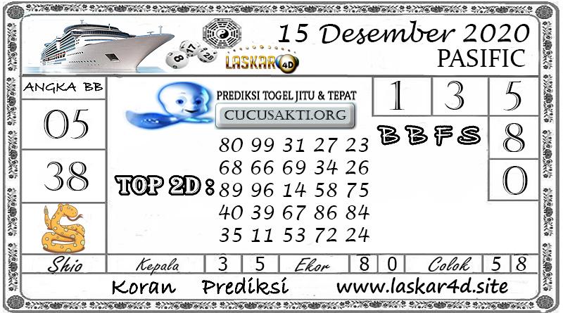 Prediksi Togel PASIFIC LASKAR4D 15 DESEMBER 2020