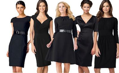pour avoir l'air plus mince la robe noire