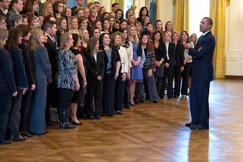 Former Pres. Obama Awards STEM Teacher's Winners