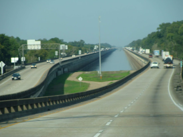 Highway durch Louisiana
