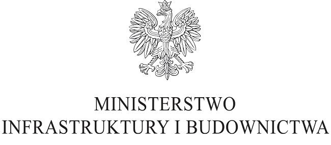 Logo Ministerstwa Infrastruktury i Budownictwa