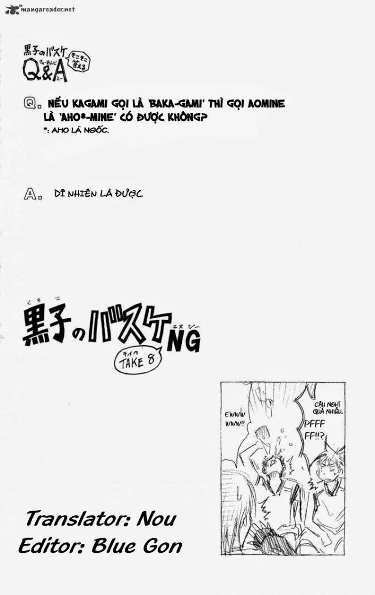 Kuroko No Basket chap 130 trang 19