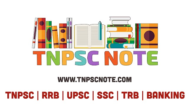TNPSC NOTES CA Prelims