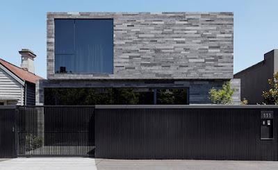 fachada casa enchape piedra