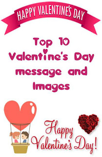 Valentine's Day message and Images in English