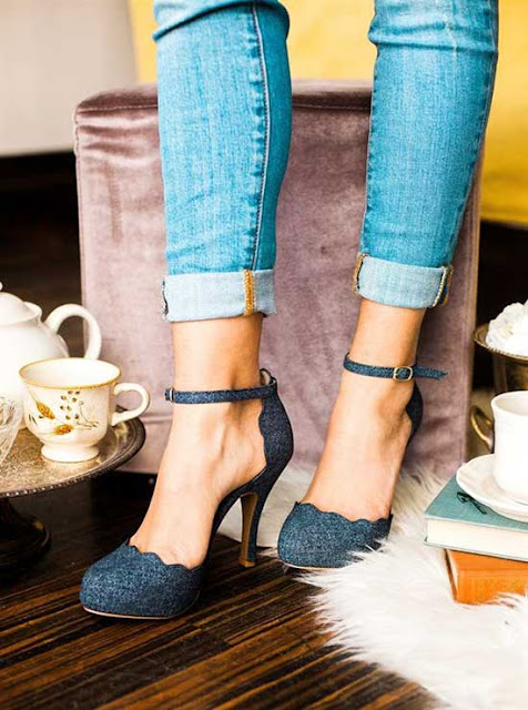 three-inch game heels