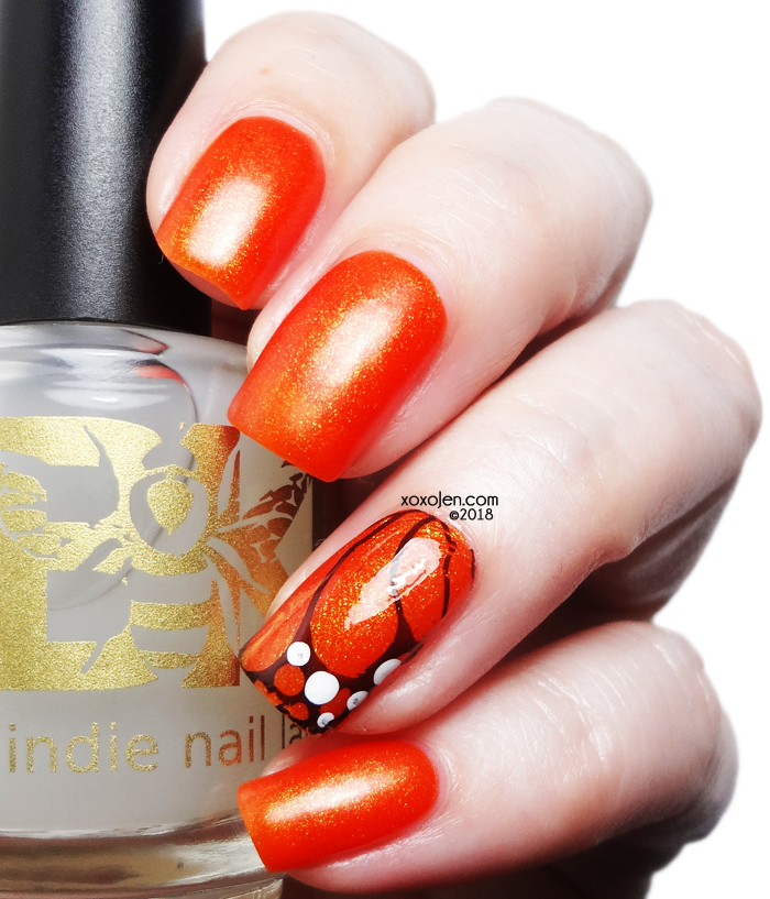 xoxoJen's swatch of Monarch Butterfly Wing