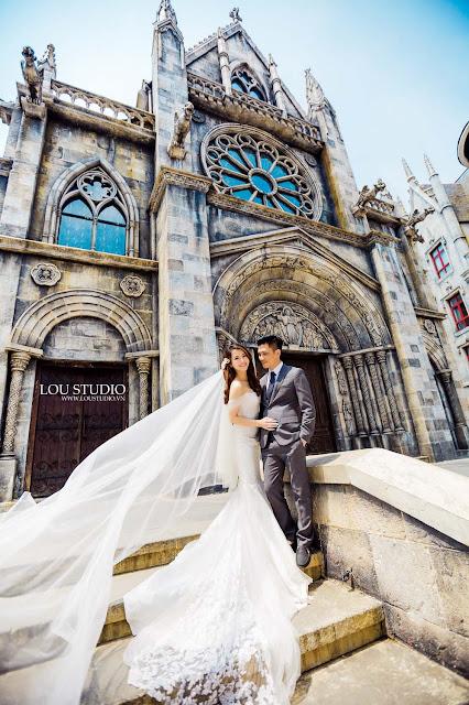 Bộ ảnh cưới với câu chuyện đẹp như tranh vẽ