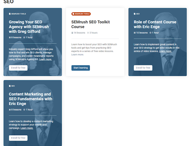 Free marketing courses with certifications