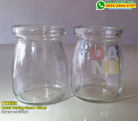 Botol Puding Short 100ml