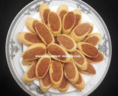 حلوة البليغة بكوكاو من حلويات زمان