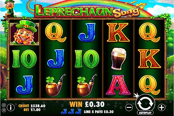 Main Gratis Slot Indonesia - Leprechaun Song (Pragmatic Play)