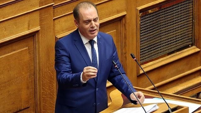 Ερώτηση Βελόπουλου στη βουλή για την εξαίρεση της Πελοποννήσου από το φυσικό αέριο