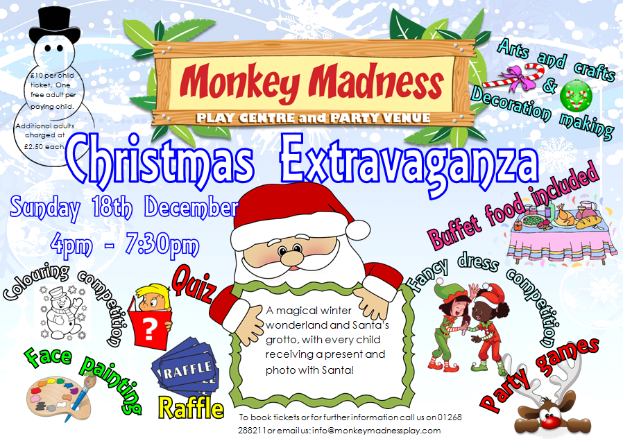 Events At Monkey Madness