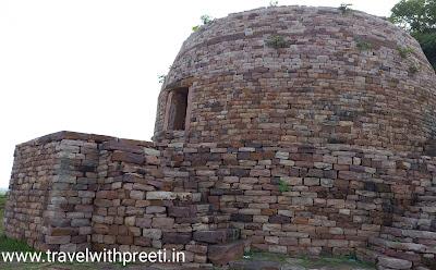 ढेकीनाथ बौद्ध स्तूप ग्यारसपुर, विदिशा - Dhekinath Buddhist Stupa Gyaraspur, Vidisha