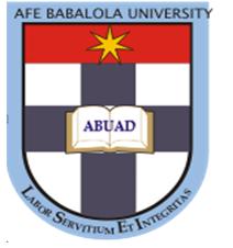 Afe babalola University Ado-Ekiti ( ABUAD )Admission Screening/Post-UTME Date, Details – 2017/2018