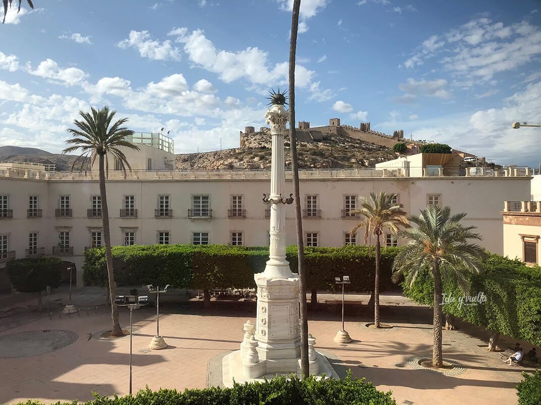 La Plaza Vieja desde nuestro hotel