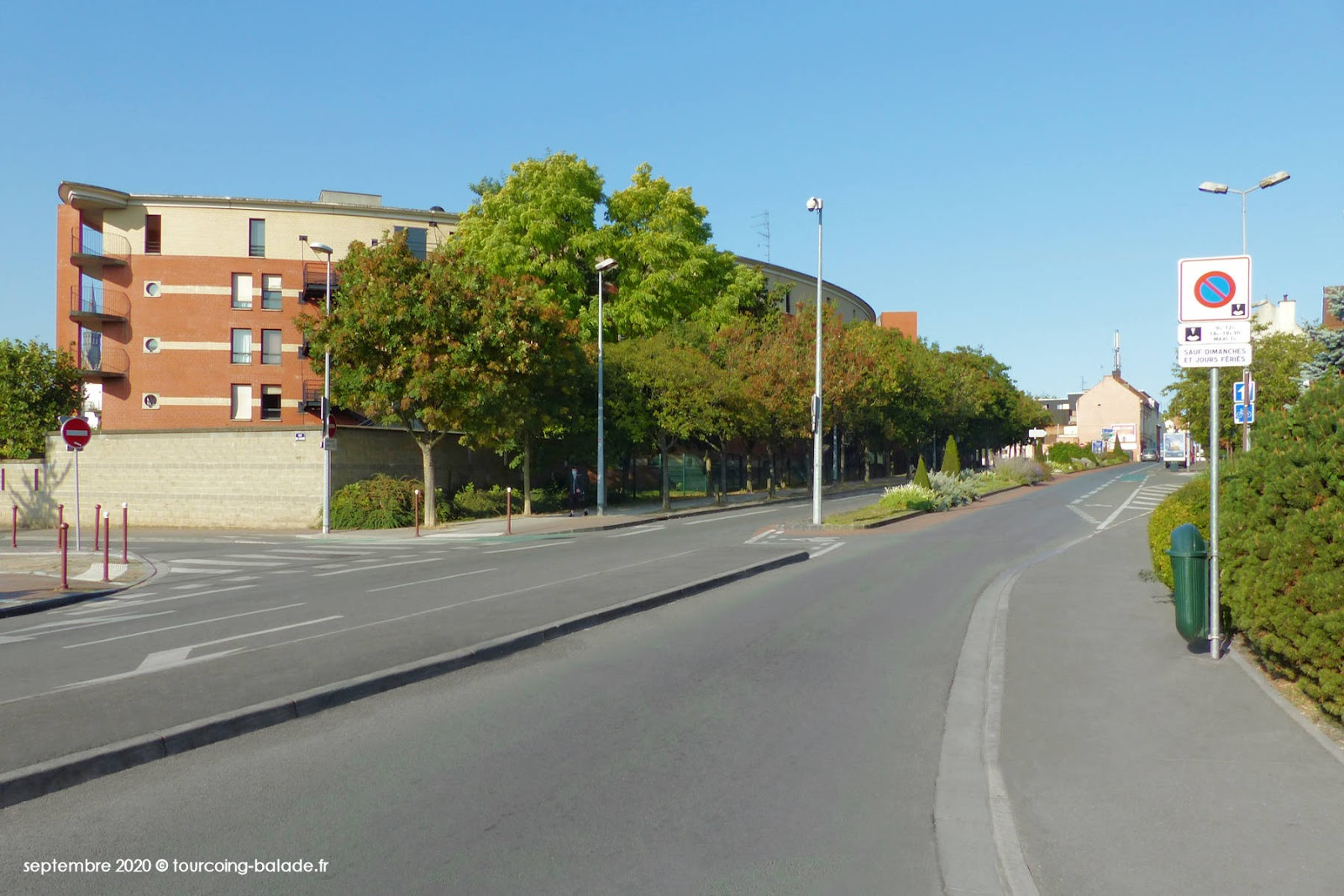 Rue Thiers, Tourcoing 2020