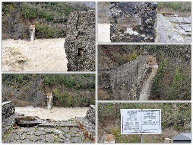 Τρία χρόνια από την κατάρρευση του ιστορικού γεφυριού της Πλάκας