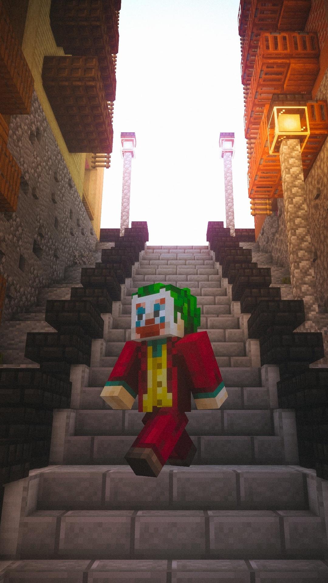 Wallpaper 4k Minecraft Joker