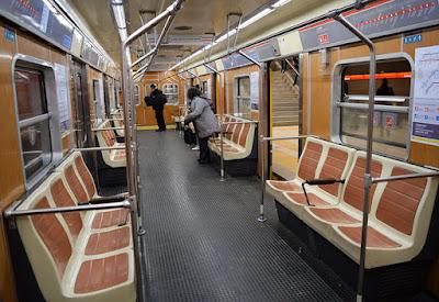 Los vagones de la línea B del subte que compró Mauricio Macri en 2013 tienen material cancerígeno