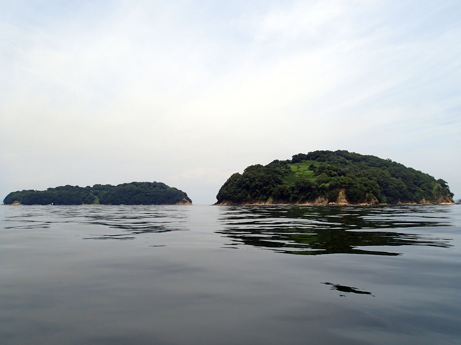 シーカヤック 瀬戸內水軍 SeaKayak: 真鍋島にシーカヤック・ソロ ...