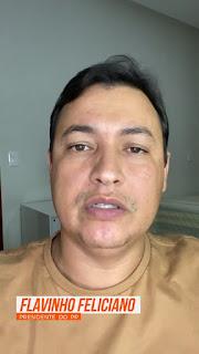 Em Sapê Flavinho Feliciano questiona a gestão municipal sobre onde estar a merenda escolar assista ao vídeo