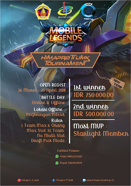 HIMAPRO TI UMK MOBILE LEGENDS TOURNAMENT