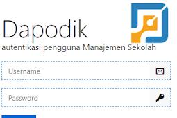 Cara Mendaftarkan Akun Operator Sekolah Di Laman sp.datadik