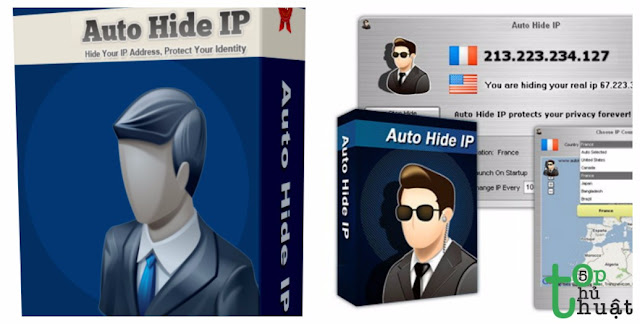 Phần mềm Auto Hide IP